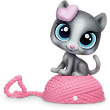Littlest Pet Shop Blind Bags Kitten (#166) Pet