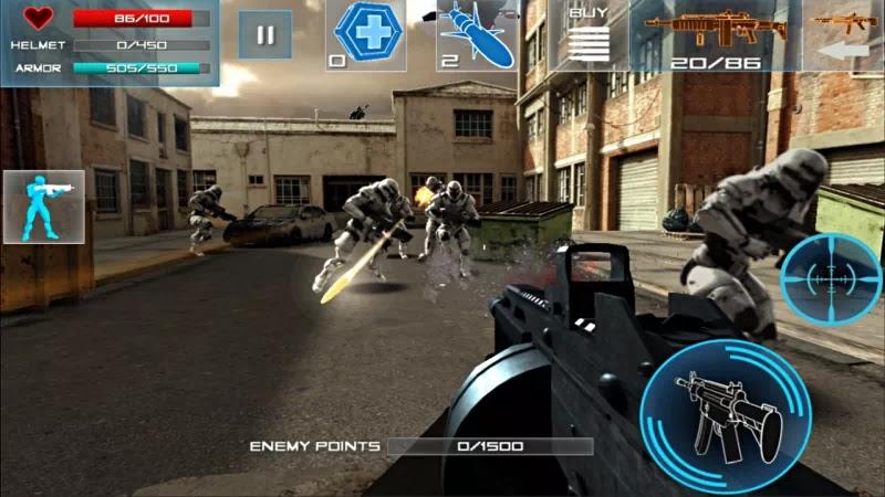 Enemy Strike 2 V1.0.4 Mod Everything By Taufiq