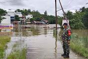 Curah Hujan Meningkat, Desa Nanga Tebidah Terendam Banjir