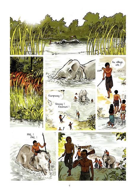 Un million d'éléphants de Vanyda et Jean-Luc Cornette planche 1