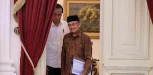 Habibie Sering Beri Solusi Masalah Ekonomi Dan Kebangsaan Ke Jokowi