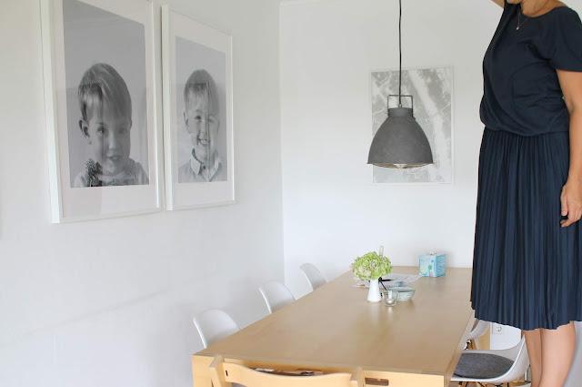 Einladendes Esszimmer Makeover Esstisch Lampen Leuchten Test Skandinavisches Design Jules kleines Freudenhaus