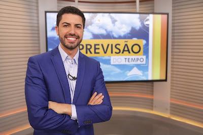 Marco Matos é o novo apresentador da previsão do tempo do JA. Crédito: Isadora Neumann