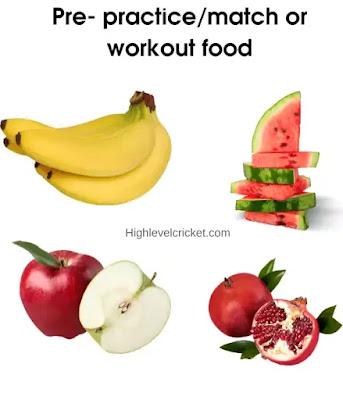 Cricket fitness diet in hindi - क्रिकेट डाइट