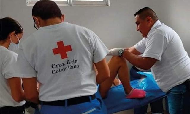FRONTERA: Conozca la Historia de Joven venezolana que dio a luz en la cruz rojas del Departamento de Arauca-Colombia.