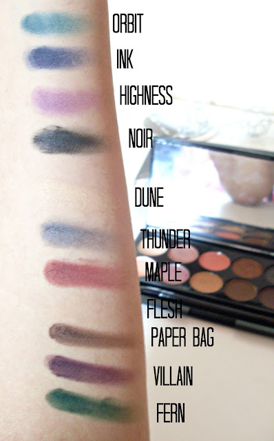Sleek Eyeshadow Palette Review | Ultra Mattes V2