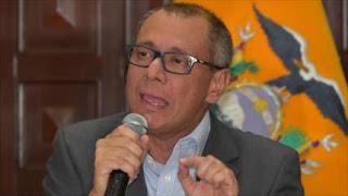 Jorge Glas reacciona: Soy vicepresidente y terminaré mi mandato