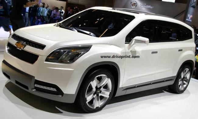 New Chevrolet Orlando 2016