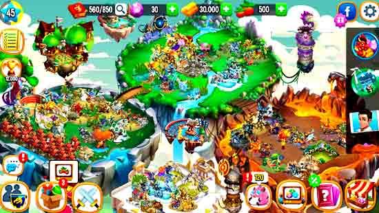 Dragon City MOD APK Android