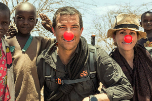 Running Wild with Bear Grylls for Red Nose Day