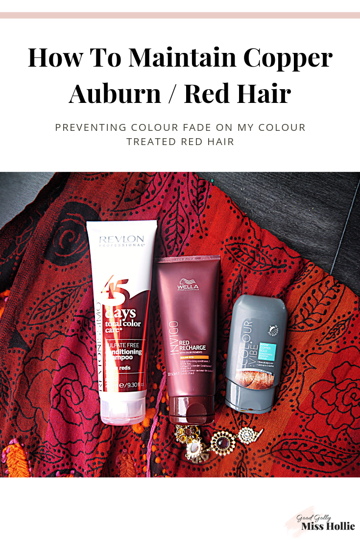 How To Maintain Copper Auburn / Red Hair
