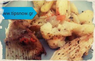 Υπέροχη συνταγή για ράντζα στον φούρνο με πατάτες