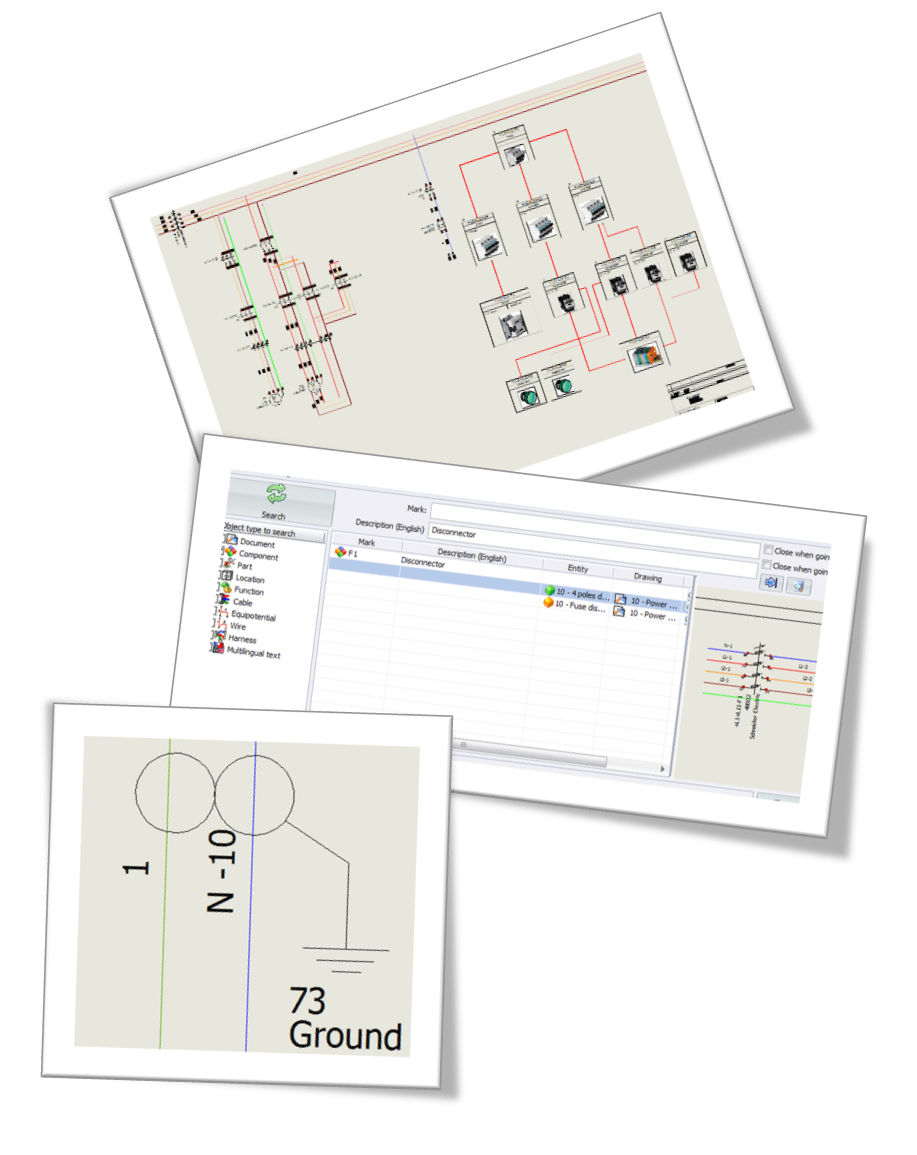 Solidworks Electrical Enables Engineers To Draw Singleline Diagrams