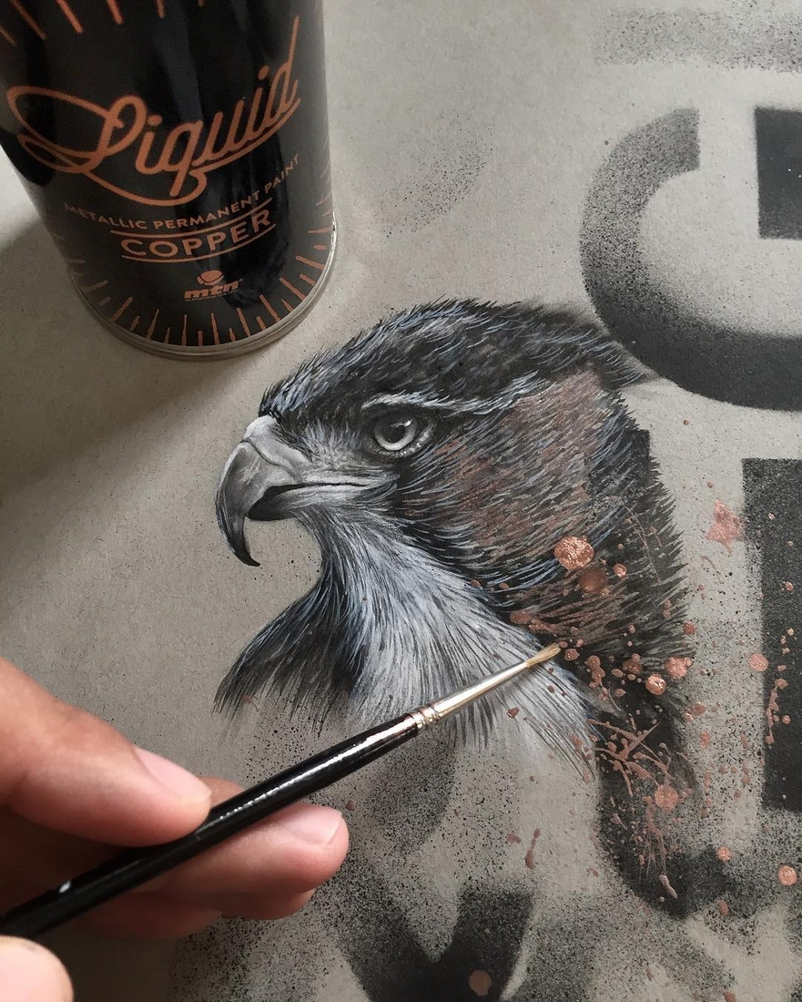 13-The-Falcon-Jonathan-Martinez-Realistic-Pencil-Animal-Drawings-www-designstack-co