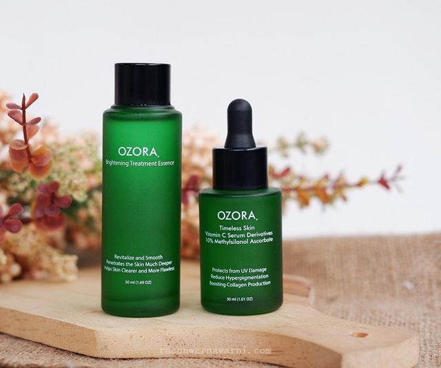 Review Ozora Vitamin C Series
