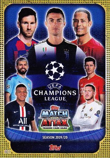 Topps Cristal Liga de Campeones 2019//20 Tarjeta de base Manuel Neuer