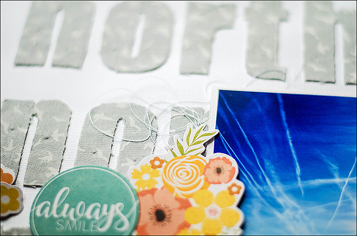 Stephanie Berger - Scrapbooking Layout - Destination Northsea