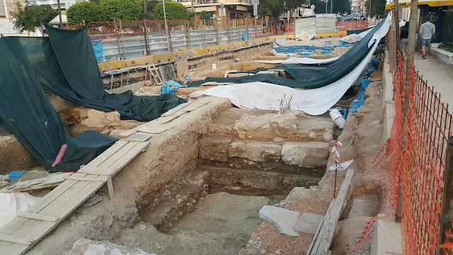 Πειραιάς: Τα αρχαία του Τραμ του Πειραιά