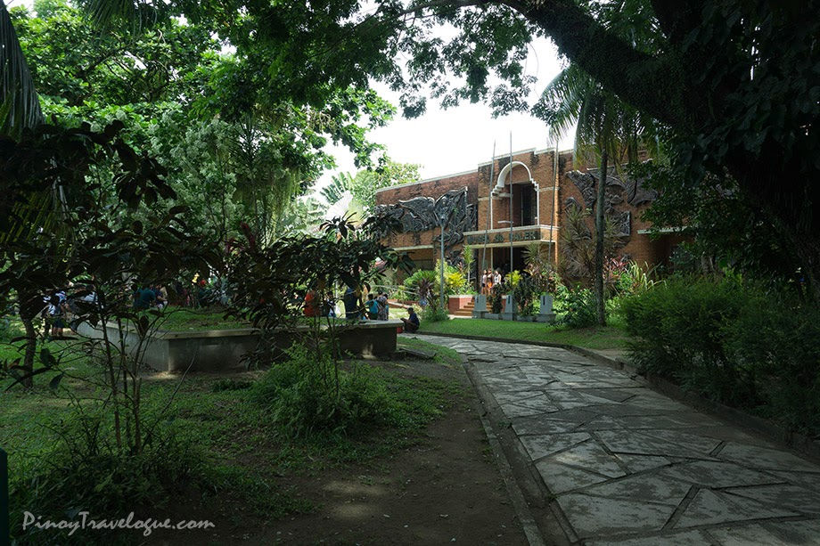 Museo de Baler and Quezon Park's green environs
