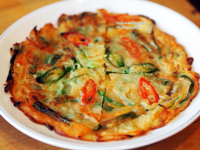 Spring Onion Pancake Pajeon