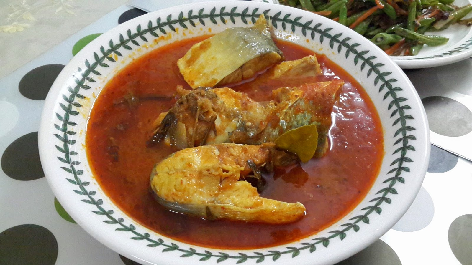 Resepi Masakan Kegemaran: Asam Pedas Ikan Senangin