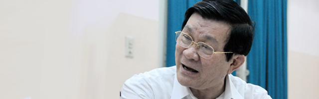 Chủ tịch nước Trương Tấn Sang: Tham nhũng không giảm, nghị quyết không thành công