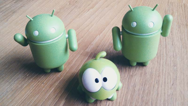 Boneka Sistem Operasi Android