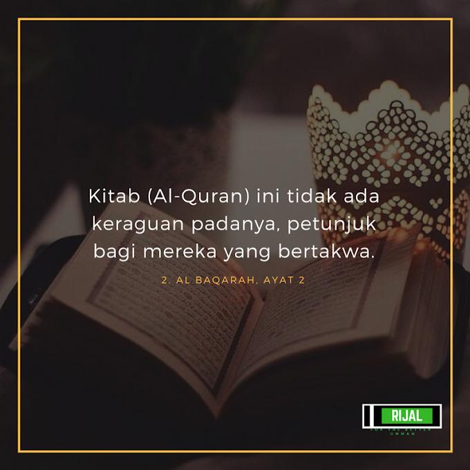 #WordlessWednesday Quran, Petunjuk Orang Bertakwa