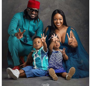 Paul Okoye Shares Beautiful Photos of His Set of Twins Who Turn 2