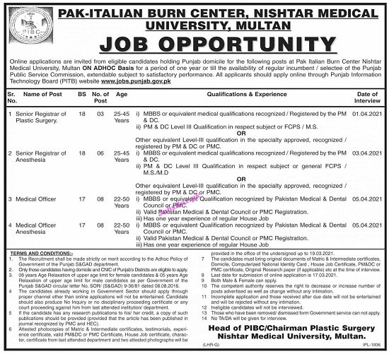 nishtar-medical-university-nmu-multan-jobs-2021-apply-online