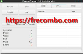 Minecraft Accounts Checke