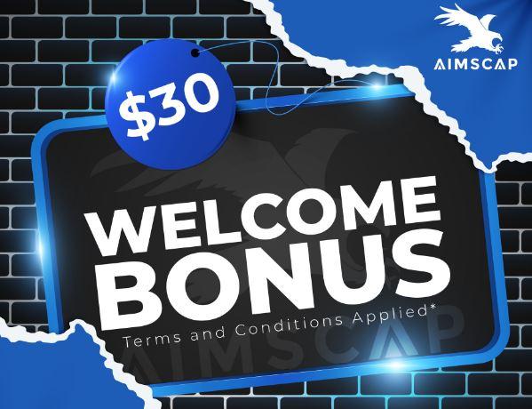 Bonus Forex Tanpa Deposit AIMSCAP $30