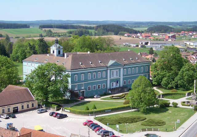 Schloss Dačice (Datschitz) in Tschechien.