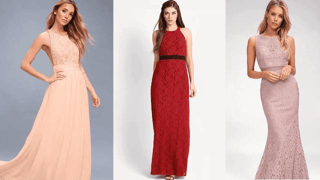 ملابس الدانتيل الكروشيه وأفكار التصميم