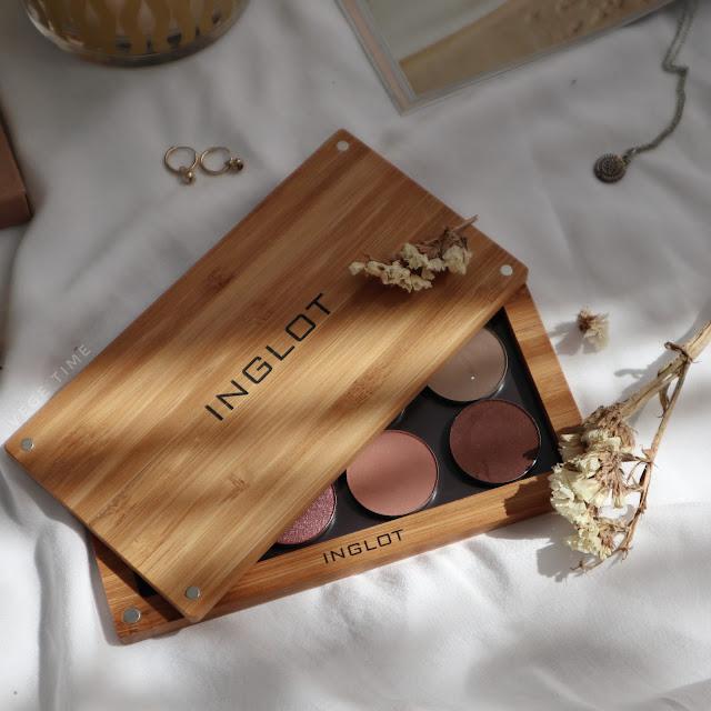 Najlepsze cienie z drogerii - Kobo Professional + Paletka Inglot Flexi Eco