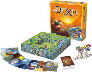 DIxit board game componentes
