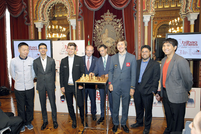 Participantes del Bilbao Chess Master 2016