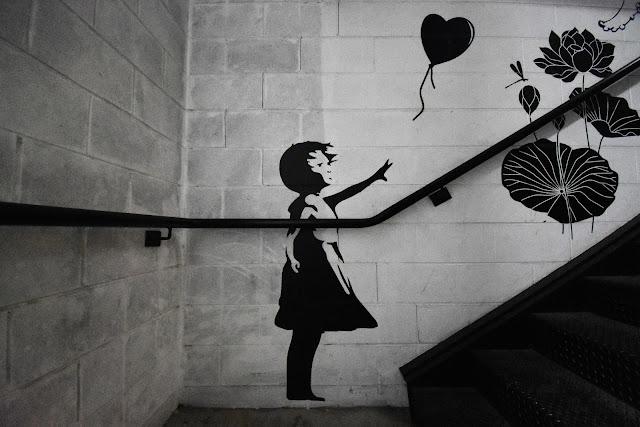 Strathfield Street Art | Banksy Stencil