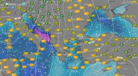 Τοπικές βροχές αύριο στα βόρεια τμήματα της χώρας - Πρώτη εκτίμηση για την πιθανή σημαντική αλλαγή του καιρού το Σαββατοκύριακο