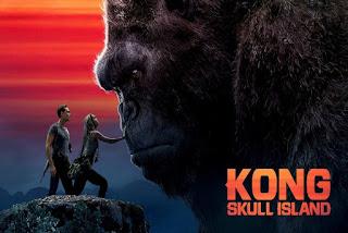 Kong Skull Island 2017 Classic Horror Film Board