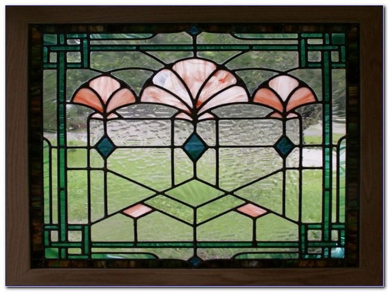 Fake Stained Glass Window Film Home Car Window Glass Tint Film