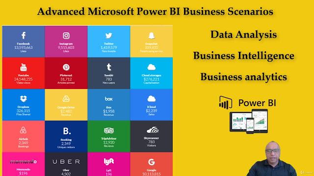 Advanced Microsoft Power BI Business Scenarios