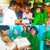 Persit KCK Cabang Kodim 0319/Mentawai Bantu Sembako Untuk Korban Banjir dan Pasien Gizi Buruk