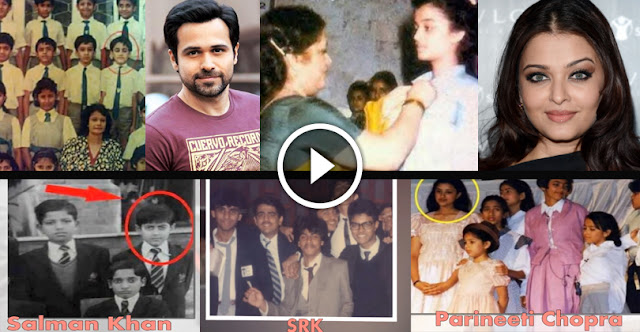 20 Rare School Life Pictures Of Bollywood Celebrities