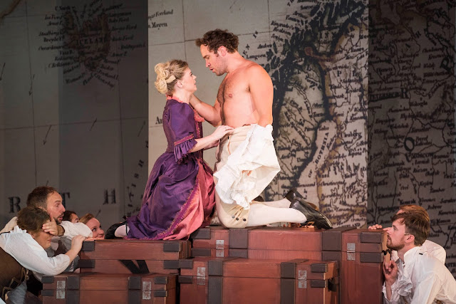 Bernstein: Candide - Fflur Wyn, Robin Bailey - West Green House Opera (Photo Matthew William Ellis)