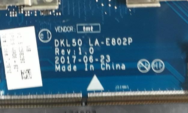 LA-E802P Rev1.0 DKL50 HP 15-BS742TX Bios