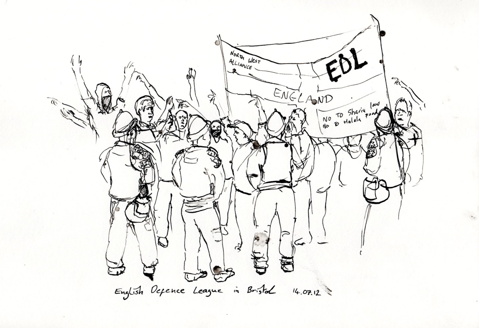Tim S Political And Social Drawings E D L Rally And A