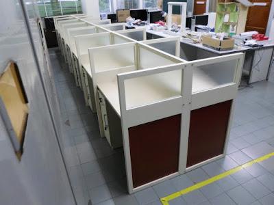 Cubicle Workstation 14 Staff + Furniture Semarang