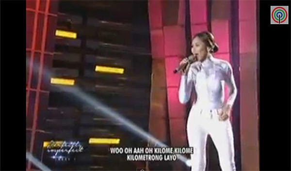 The Philippines Pop star idol Sarah Geronimo on Sunday, Nov.2, introduced her newest single on her latest upcoming international album 'Perfectly Imperfect.'