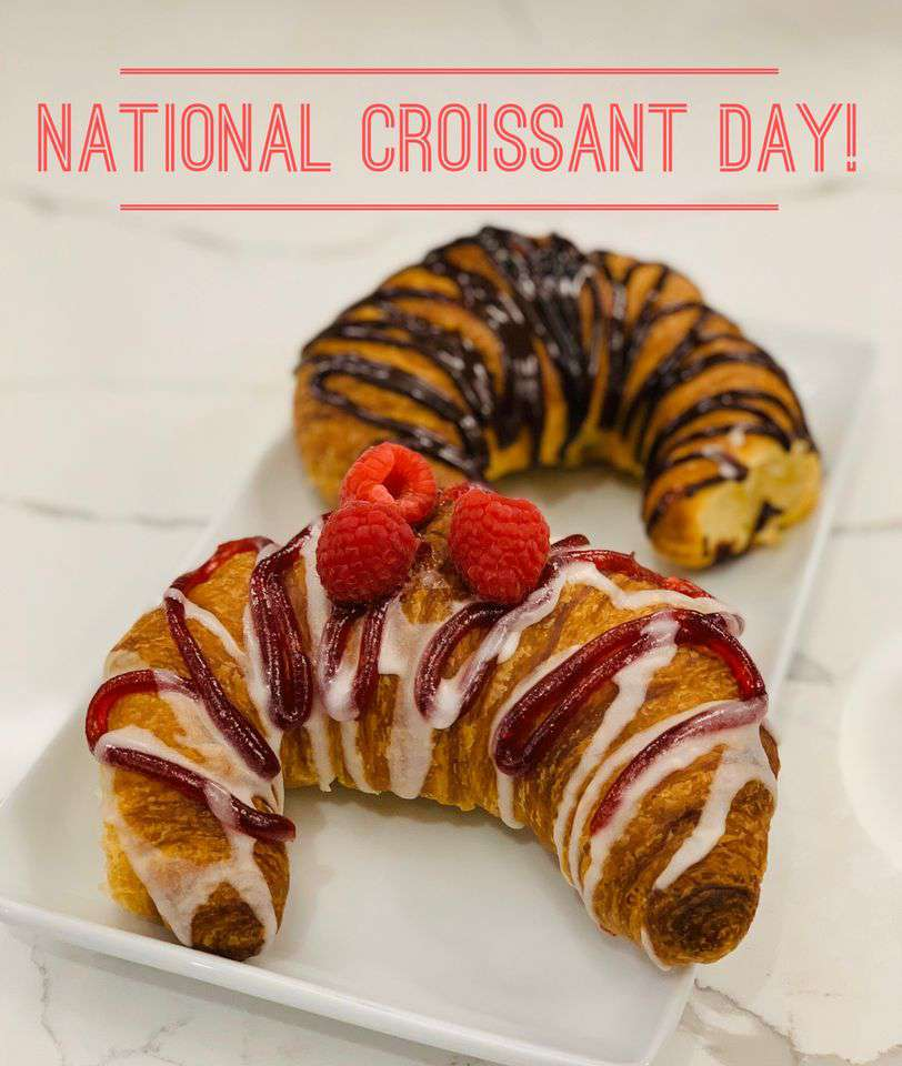 National Croissant Day Wishes Awesome Images, Pictures, Photos, Wallpapers